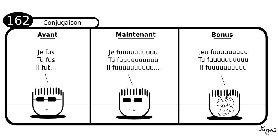 162 - Conjugaison