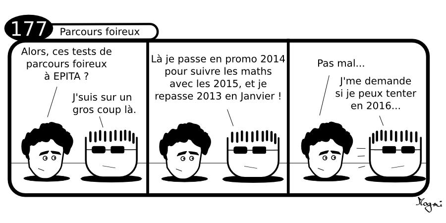 177 - Parcours foireux