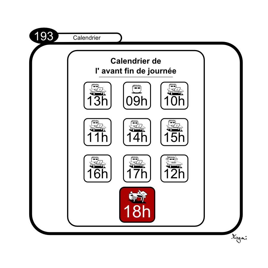 193 - Calendrier