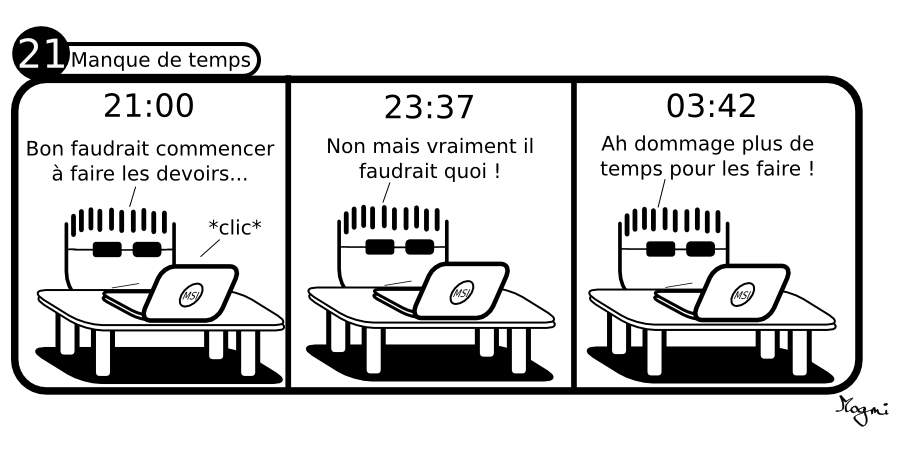 21 - Manque de Temps