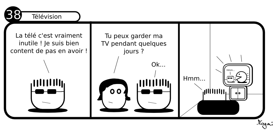 38 - Télévision